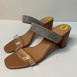 Chinese Laundry Women's 9 Block Heels Open Toe